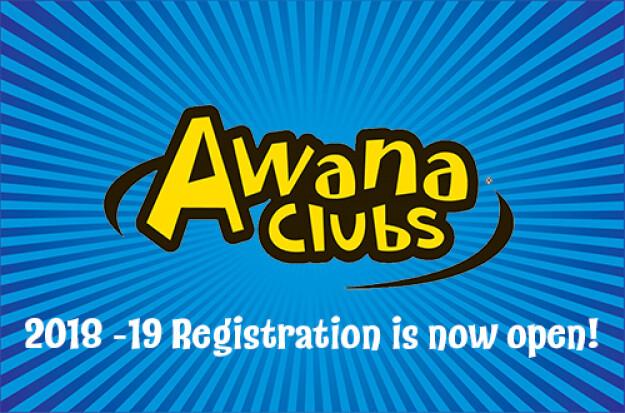 2018 Awana Registration