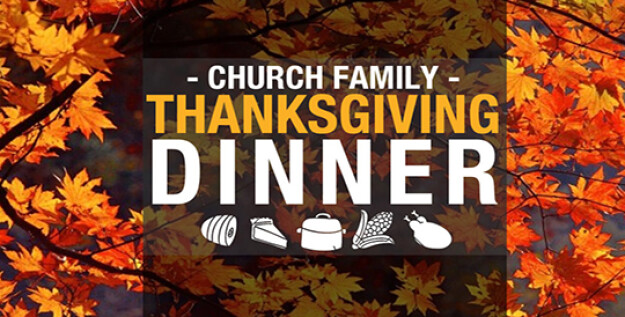 Church Wide Thanksgiving Meal